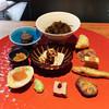 明道町中国菜 一星 - 料理写真:もずく、揚げパイ、アヒル卵、大根餅、鮟肝、もろこ、赤なまこ、くらげとからすみ、ればー、よだれ鳥