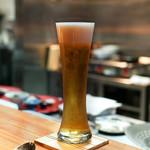 明道町中国菜 一星 - ビール