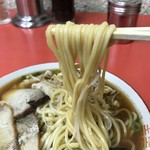 翁介 - 麺は太麺ストレート(2018.1.22)