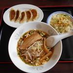 台湾料理 来ちゃん - 料理写真:ミニランチC醤油ラーメン