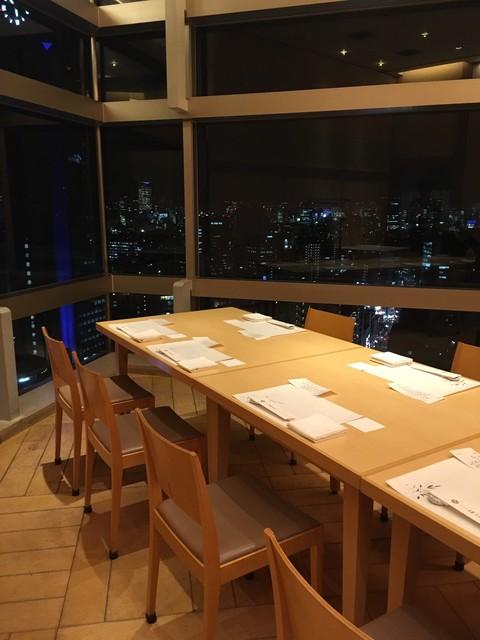 四季の味ほり川  小田急ホテルセンチュリーサザンタワー店 - 個室席  眺めが素晴らしい