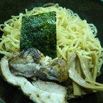 らーめん神田 山形家 - ミックスつけ麺の麺と具