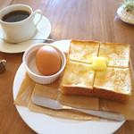 たもん・センター・カフェ! - トーストセット