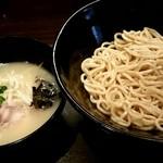 らーめん 玉彦 - 鶏塩つけ麺中盛り620円!
