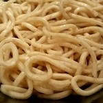 らーめん 玉彦 - つけ麺の自家製麺アップ!!!