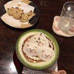 押上猫庫 - 3Dクッキー&黒みつと黒糖の抹茶ソイオーレ