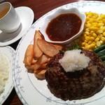 カフェ&レストラン メリーポピンズ - 和風ハンバーグ¥950.-(税込)