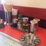 北京亭 - テーブル調味料類