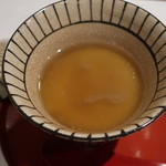 割烹 新多久 - ずわい蟹茶碗蒸し