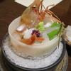 九兵衛旅館 - 料理写真:庄内魚お造り:たらば海老、生蛸、ふぐ