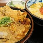 丸亀製麺 - 親子丼定食 1000円