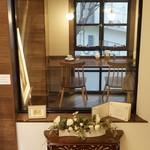 文房堂Gallery Cafe - 階段から撮りました。
