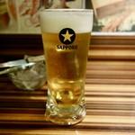 味覚園 - [2018/01]サッポロ生ビール・中(500円+税)