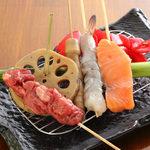 串揚げ・日本酒バル あげとこ - 料理写真