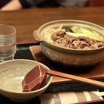 かつまる - 肉鍋うどん