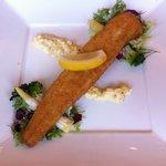 Achero - 前菜 穴子一本を空港大橋に見立てて