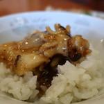 生味園 - イカの中国黒豆みそ炒めオンザライス