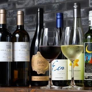 ソムリエが厳選した各国のワイン