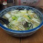 中華料理 新三陽 - タンメン 650円