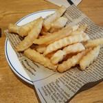 肉が旨いカフェ NICK STOCK - 「ポテトセット (+190円)」