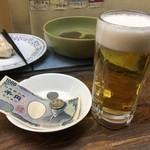 立ち呑 こひなた - 樽生ビール