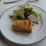 ブラッスリーオザミ - 前菜(キッシュ)