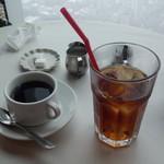 ブラッスリーオザミ - ホットコーヒー&アイスティー