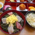 優美堂 - 料理写真:海ぶどう丼セット
