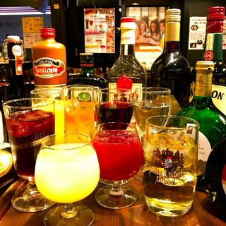 ◆◆ドイツ樽生&その他ドリンクも多数!飲み放題コース