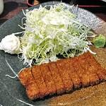 新潟牛華堂 - 「牛カツ麦めしとろろ御膳(130g)」のメイン