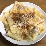 つけ麺 成屋 - ワンタン風味の特製ねじ餃子