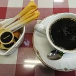 洋食屋 ルーアン - ホットコーヒー:150円(セット価額)