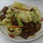 味心 - 豚サガリ タレ炒め