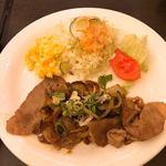 ルアン - 料理写真:生姜焼き