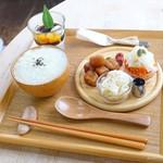 ボヌール - 2017年11月 薬膳粥プレート