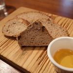 ザ ファームハウス - ドイツパン盛り合わせ