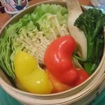 79789908 - 浜松野菜のせいろ蒸し