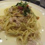 トラットリア イル ペンドーロ - 鶏挽肉のクリームソース