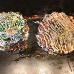 お好み焼き・鉄板焼 ぼんくら家 - 牛スジコン玉とぼんくら焼き