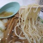 徐州楼 - ストレート細麺