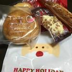 パティスリーイチリュウ - クリスマスの焼き菓子