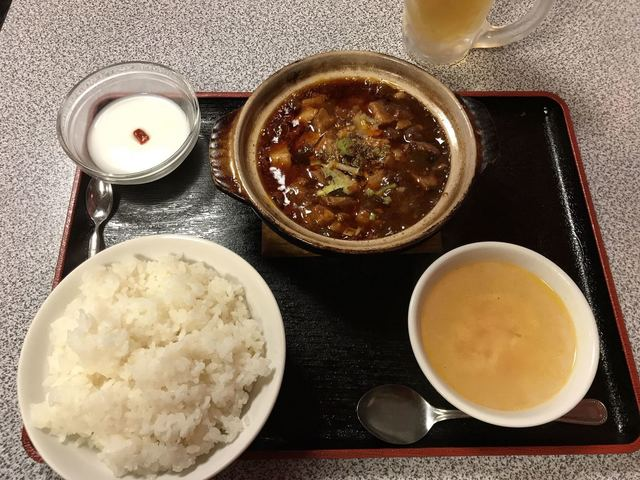 新栄 - 麻婆豆腐定食