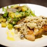 エムナチュール - Special Dinner Course (ハーブローストチキン 〜きのこクリームソース〜)