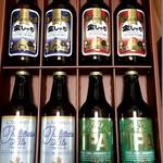 盛田金しゃちビール犬山工場 - 4種類入ってました