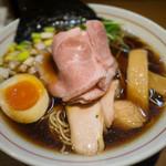 寿製麺 よしかわ - 煮干しそば 黒醤油