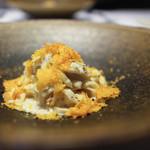 かわ村 - 料理写真:2018年1月再訪:渡り蟹とほうじ茶のクリームソース 自家製パスタトレネッテ☆