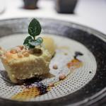 かわ村 - 2018年1月再訪:洋梨のチーズケーキと安納芋のジェラート☆
