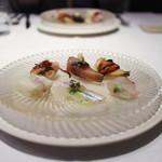 かわ村 - 2018年1月再訪:前菜6種盛り☆