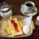 コーヒー店 杉 - モーニングサービス