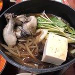くいどうらく - 2017.12.27  牡蠣の土手鍋